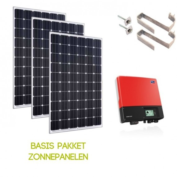 Basis pakket zonnepanelen