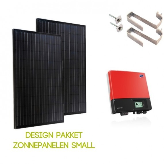 Design pakket zonnepanelen Small